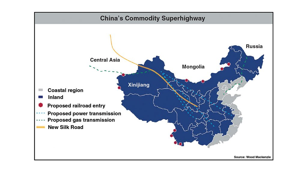 China plans new commodity superhighway, altering energy trade flow