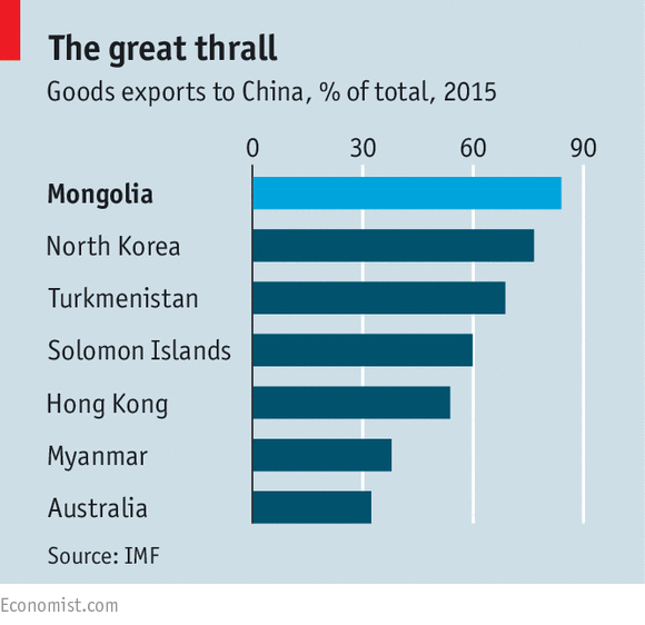 The IMF bails Mongolia out—again