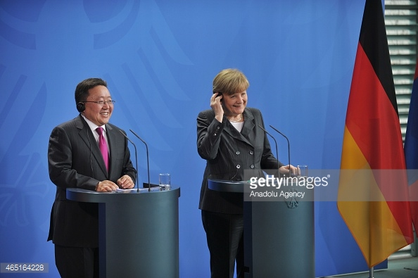 Merkel eyes airline, commodities cooperation with Mongolia