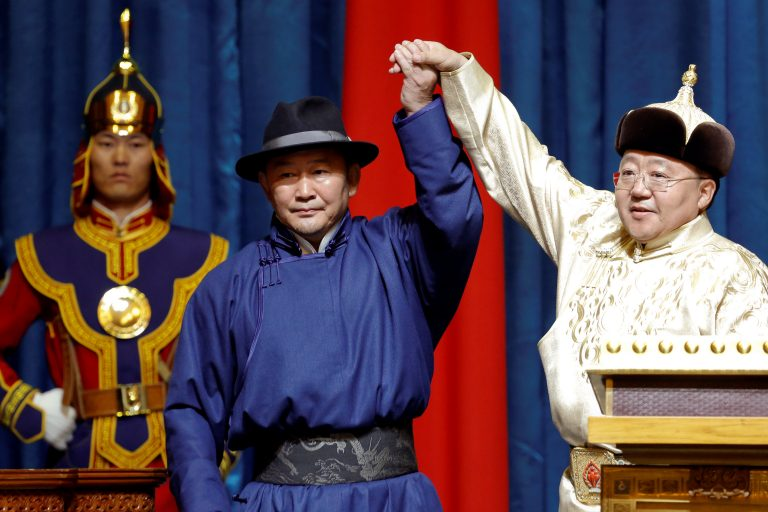 Mongolia's new president is Mongolia first and China last