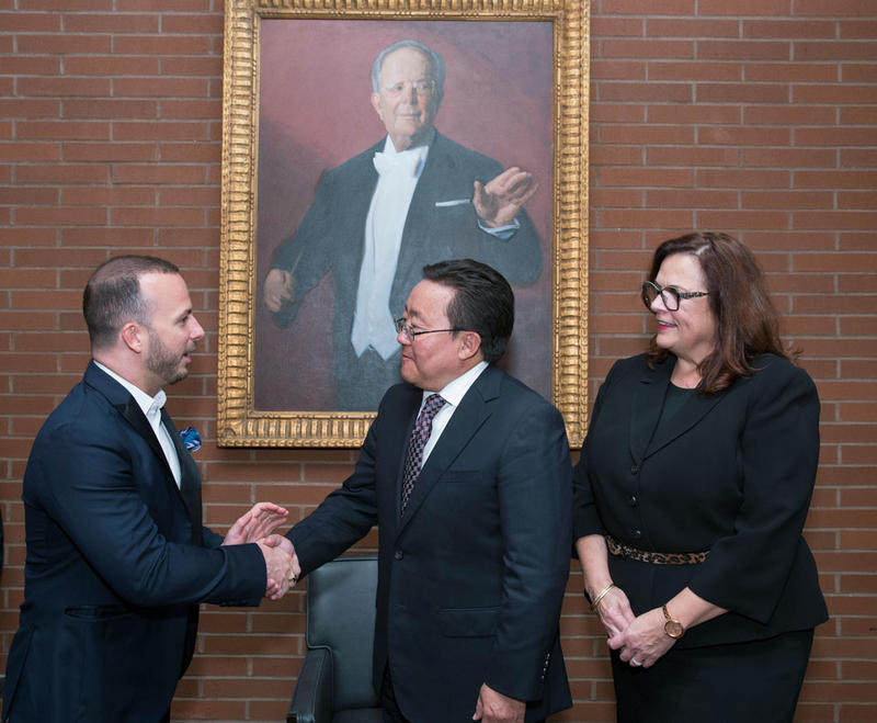 The Philadelphia Orchestra Performs for the President of Mongolia