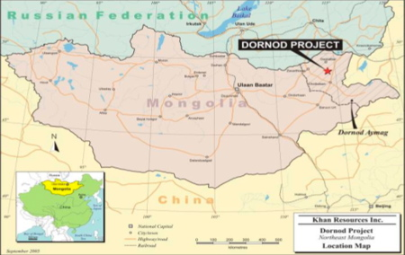 Mongolia ordered to pay $100 mln for expropriating uranium asset